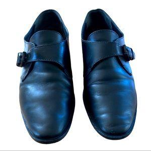 Alexander Wang Monk Strap BLACK Flats Loafers - 8